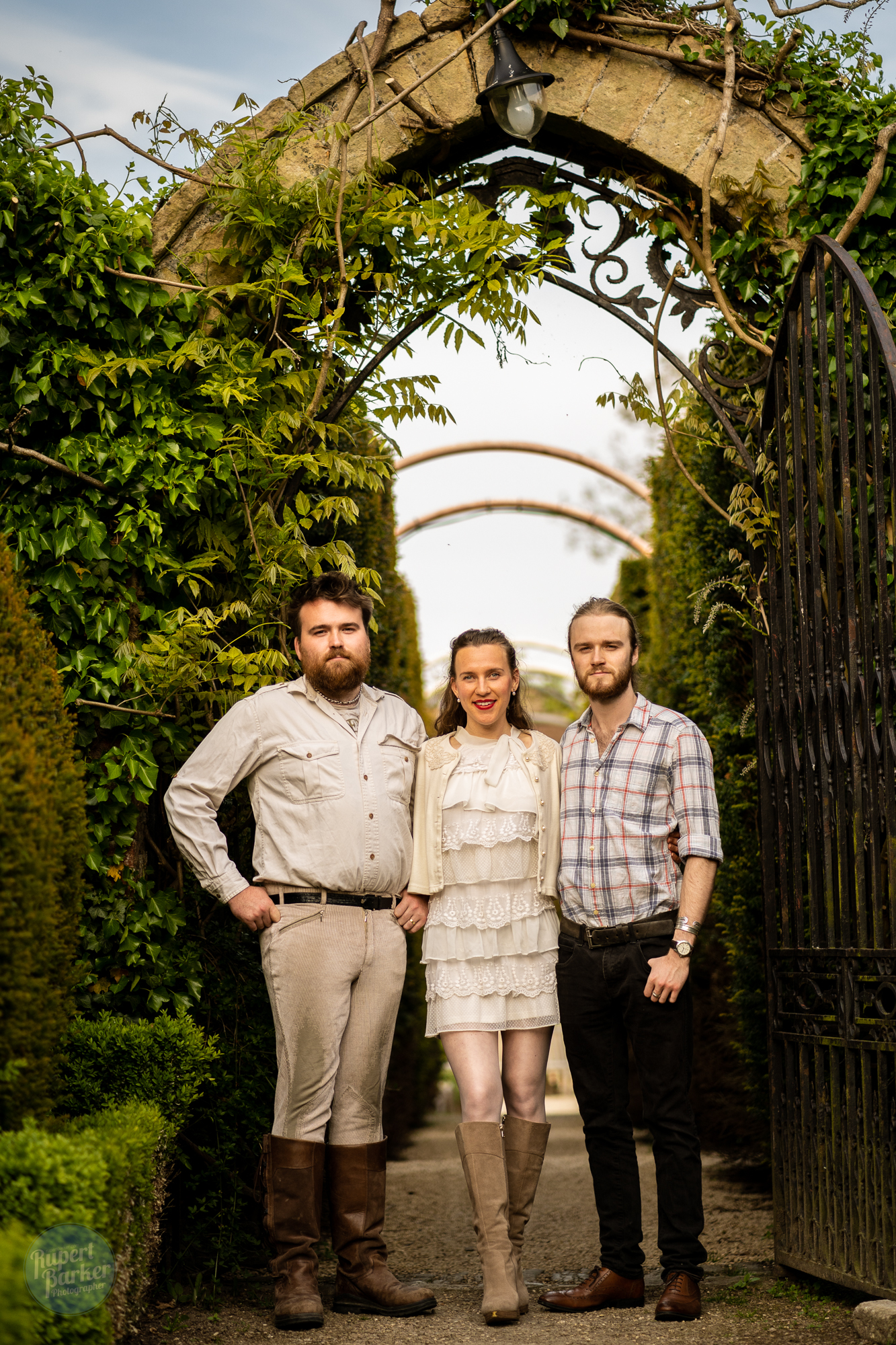 The Pollards Abbey House Gardens Portraits New Guardians of the Garden