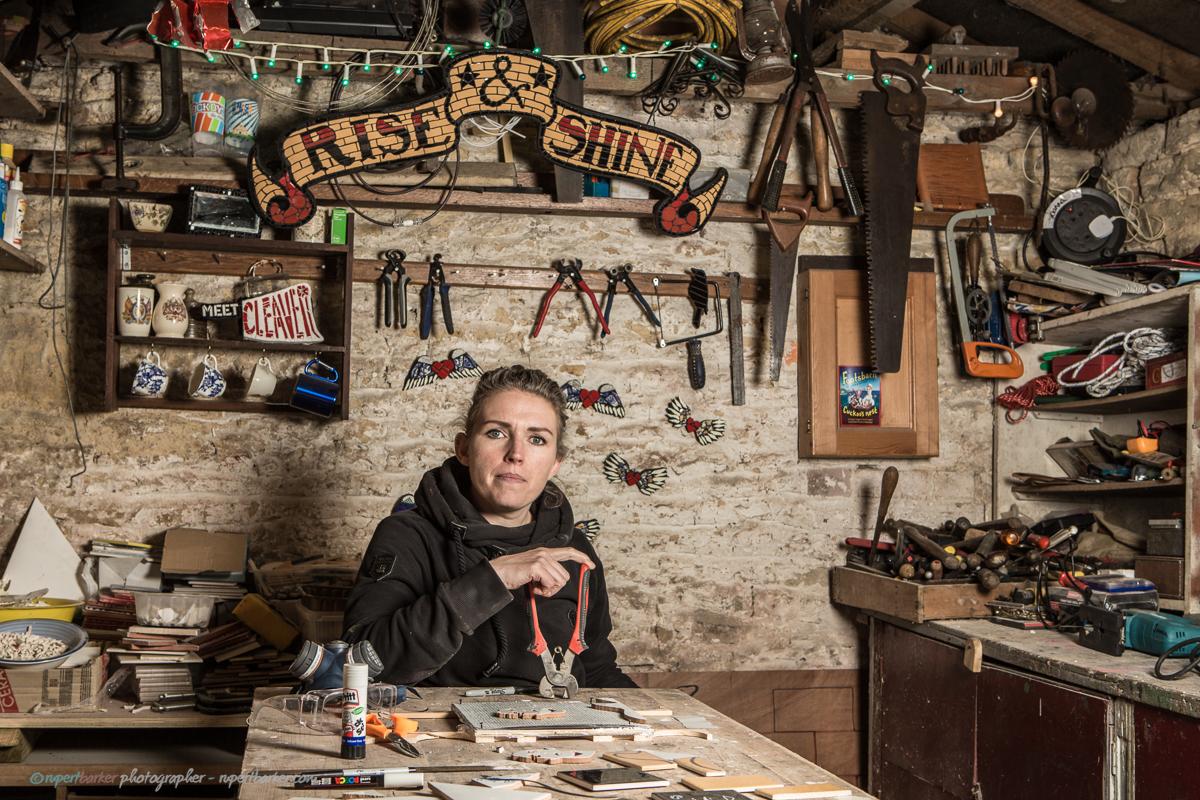 Joanna Cleaver - Meet Cleaver Mosaics - Ceramic Artist - Malmesbury