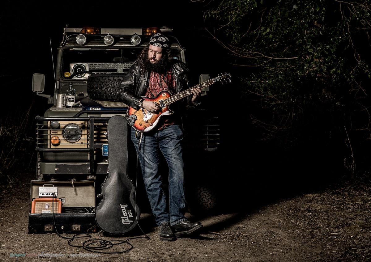 Roy Landrover Guitar Rum Malmesbury
