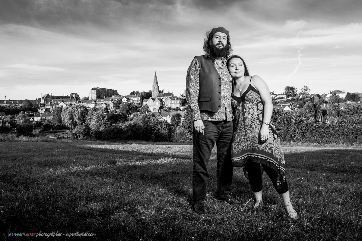 Roy and Xen Couple Wiltshire Portrait