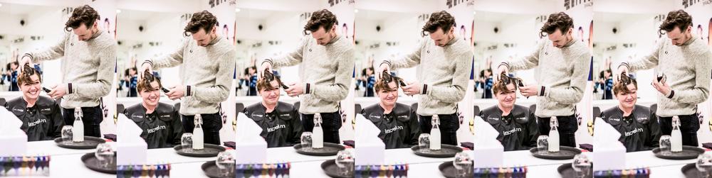 Anneliese Cancer Haircut Charity
