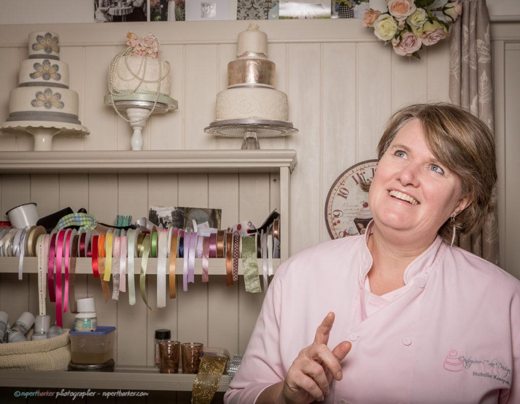 Natalie cake maker baker portrait bantam