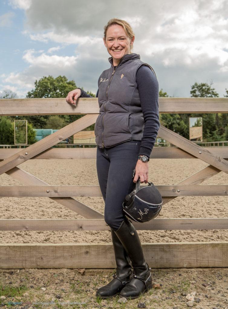 Niki Dow Willow Equine Rehab Dressage Portrait Horse Dog Malmesbury Wiltshire