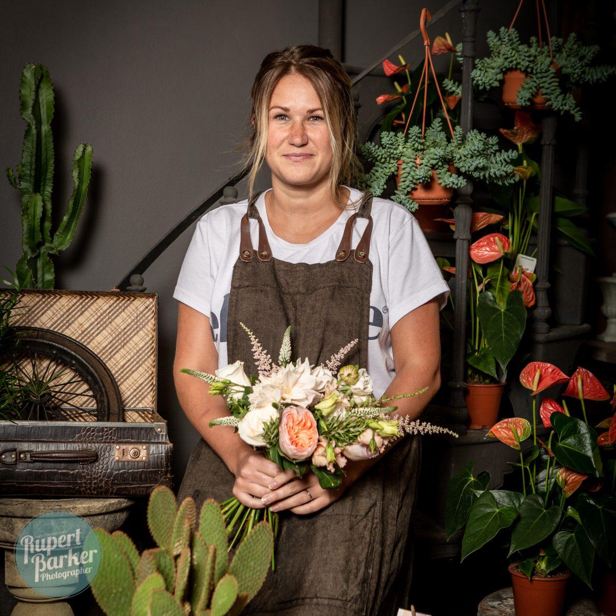 Florist Portrait Photography Project Jodie Acacia Florist flowers