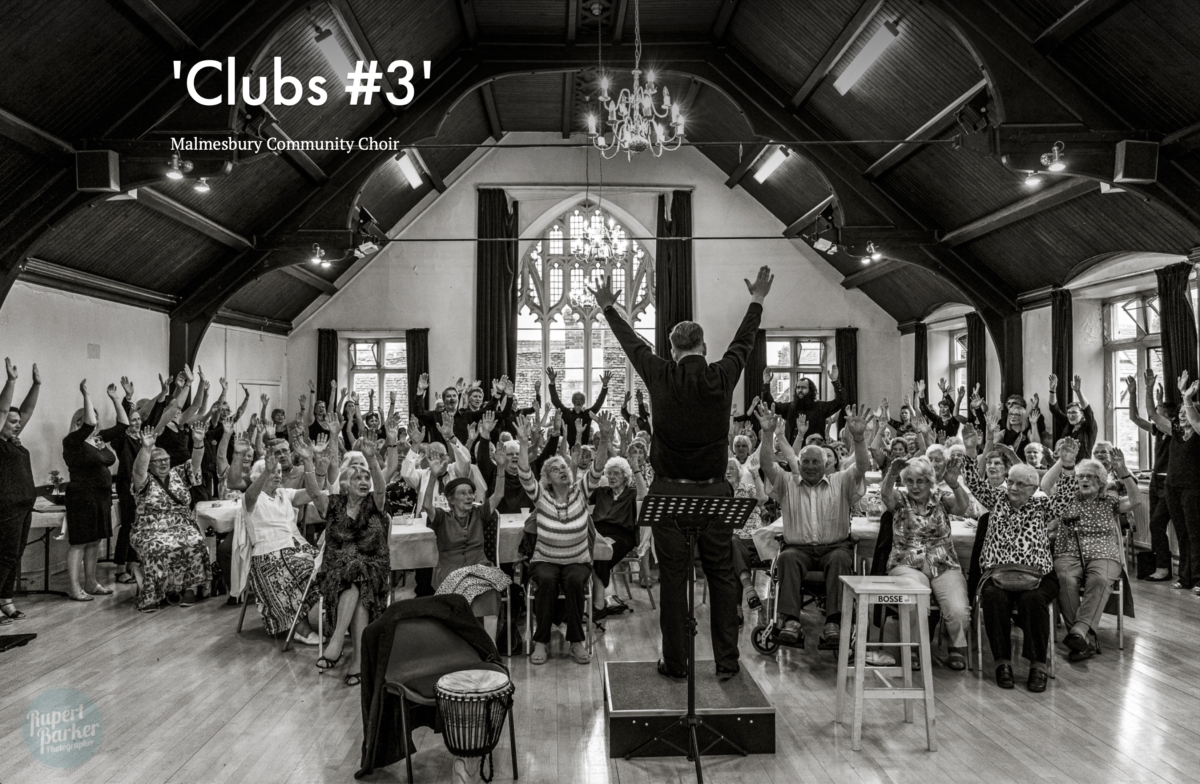 Clubs Project Malmesbury Community Choir Photo Essay Rupert Barker Photographer